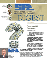 financial news digest